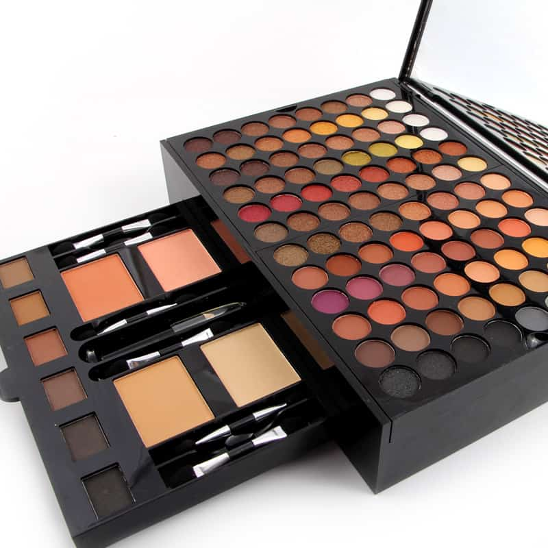 Professional Full Makeup Set Kit Amp Cosmetic Carry Case