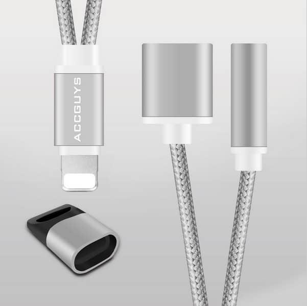new product 358b3 c825d Apple Iphone Headphone 3.5mm Audio Jack Splitter Adapter